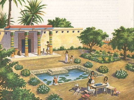 housing and homes ancient egypt
